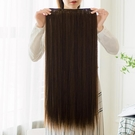 【限時下殺89折】假髮片 假髮女長直髮一片式隱形無痕接髮片仿真髮直髮片U型接長髮假髮片