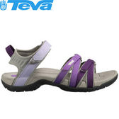 丹大戶外【TEVA】美國女款TIRRA避震排水耐磨平底涼鞋/羅馬鞋/高抓地力拖鞋/4266 DLGR