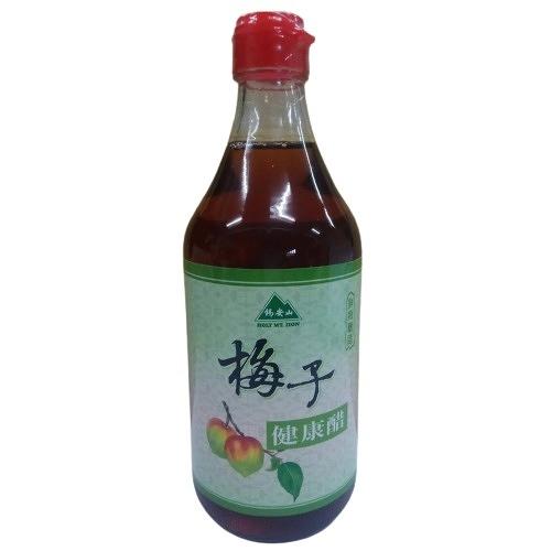 錫安山 梅子健康醋 500ml/瓶 效期至2022.12.31