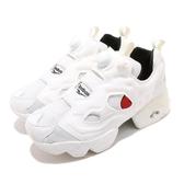 Reebok 休閒鞋 Insta Pump Fury OG 白 米白 黑 女鞋 運動鞋【ACS】 FW4757
