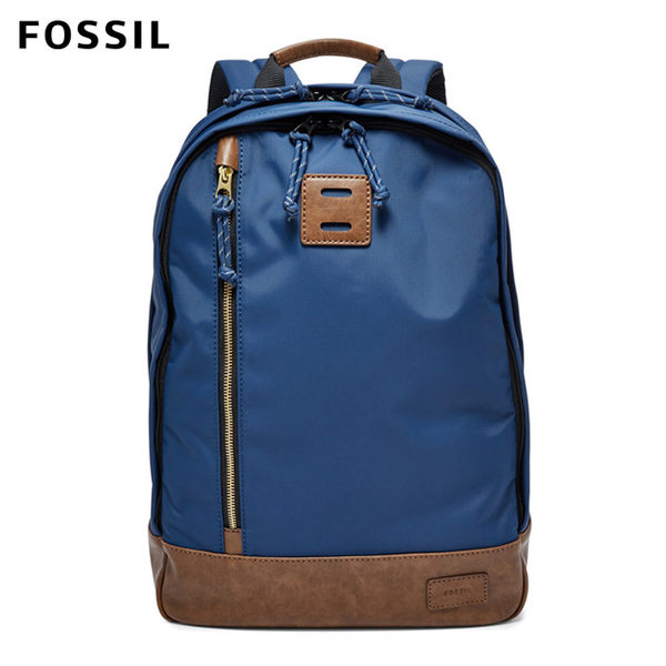 FOSSIL SPORTSMAN 藍色雙肩後背包