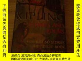 二手書博民逛書店Kipling罕見Stories And Poems From Just So Stories The Jungl