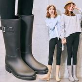 簡約時尚雨鞋 雨靴 雨靴女成人正韓中筒水靴膠鞋防滑女士水鞋雨靴【新店開業全館88折】