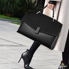 女包2020新款大容量手提公文包歐美時尚側背斜背包洋氣商務包 黛尼時尚精品
