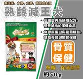 【LV藍帶精選】熟齡減重犬試吃包 - 狗飼料(酌收物流服務費10元)