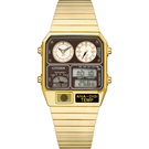 CITIZEN 星辰 ANA-DIGI TEMP 80年代復古設計手錶 指針/數位/溫度顯示(JG2103-72X)