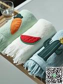 家用洗臉毛巾純棉吸水柔軟加大厚情侶全棉面巾【海闊天空】