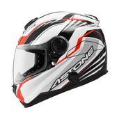[東門城]  ASTONE GT1000F(碳纖維) AC6 白紅 碳纖維 全罩式安全帽