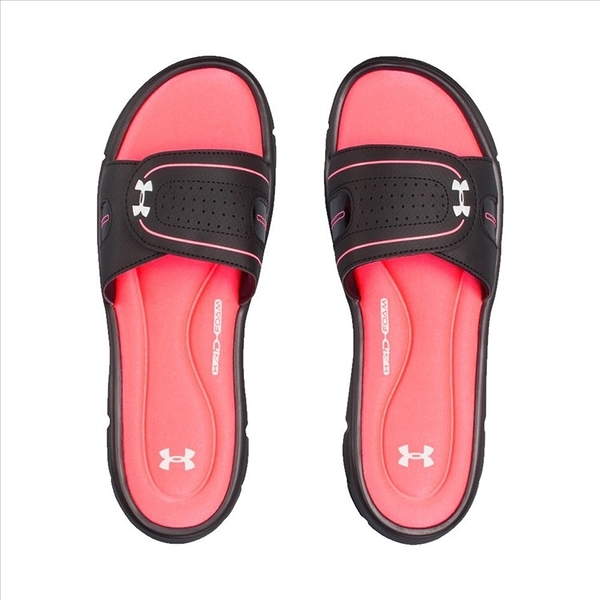 樂買網 Under Armour 18SS 女士UA Ignite VII Slides拖鞋 1287319-004