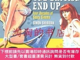 二手書博民逛書店Keeping罕見the British End Up: Four Decades of Saucy Cinema