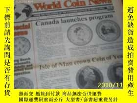 二手書博民逛書店World罕見Coin News(Vol.19,No.4)(Fe