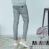 超彈力刷毛 工作褲 【HK3202】OBIYUAN 皮標休閒褲/九分褲 長褲共7色