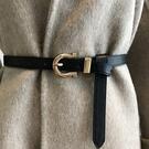 腰封皮帶 金屬 針釦 簡約 皮帶 細皮帶 腰帶