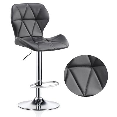 吧台椅升降椅現代簡約家用旋轉酒吧椅高腳凳前台收銀椅子靠背凳子