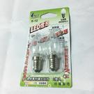 LED 燈泡2入(白光)