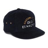 Deus Ex Machina Allen Cord Cap棒球帽 - 藍
