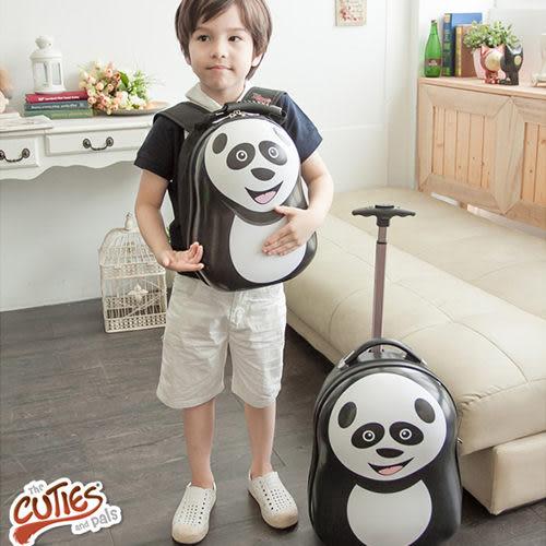 【英國CUTIES and PALS】熊貓造型兒童背包旅行箱2入組