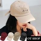 OT SHOP帽子‧ 質感素面棉料簡約草...