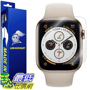 保護膜 ArmorSuit Apple Watch Series 4 Screen Protector (44mm)(2 Pack) MilitaryShield Full