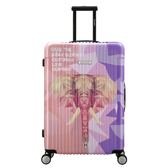 【CENTURION百夫長】拉鍊款22吋C78亞洲象行李箱