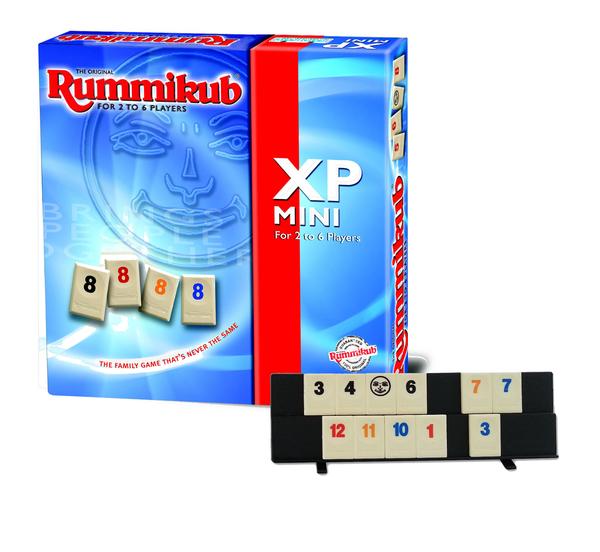 『高雄龐奇桌遊』 拉密 數字磚塊牌 攜帶版六人 Rummikub XP Mini ★正版桌上遊戲專賣店★