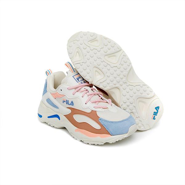 FILA RAY TRACER 中性多色系增高運動慢跑鞋-NO.4C606U149