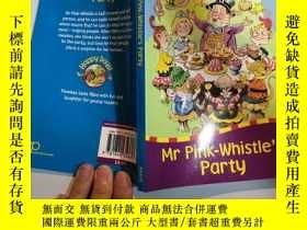 二手書博民逛書店mr罕見pink whistle s party 粉紅哨子先生的派對Y200392