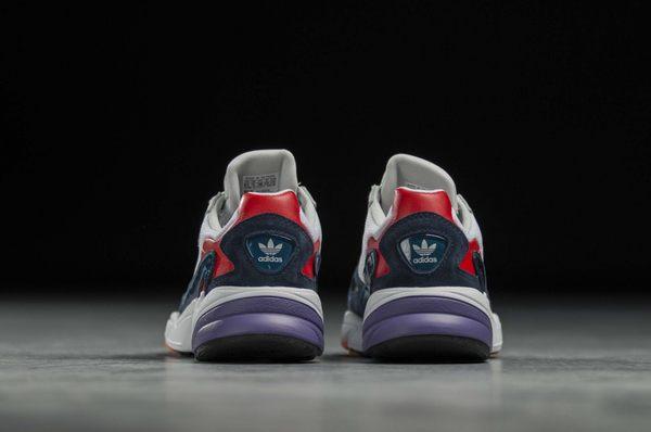 IMPACT Adidas Originals Falcon 藍 紅 白 紫 粉 楊冪著 撞色 厚底 復古 老爹鞋 CG6246