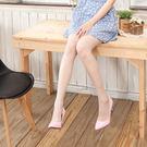 3D平紋超薄涼感T檔美腿襪 (淺銀灰 )