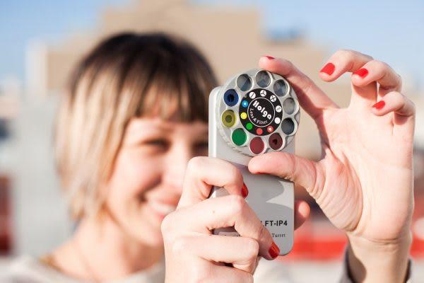 iae創百市集【SLFT-IP4】Holga iPhone 4 4s Lens Filter Kit 手機殼 保護套 10種模式 lomo