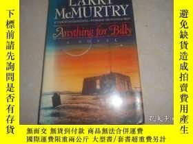 二手書博民逛書店ANYTHING罕見FOR BILLY, LARRY MCMUR