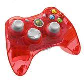 微軟Xbox360 pdp/play/steam電腦pc有線usb游戲手柄 透明