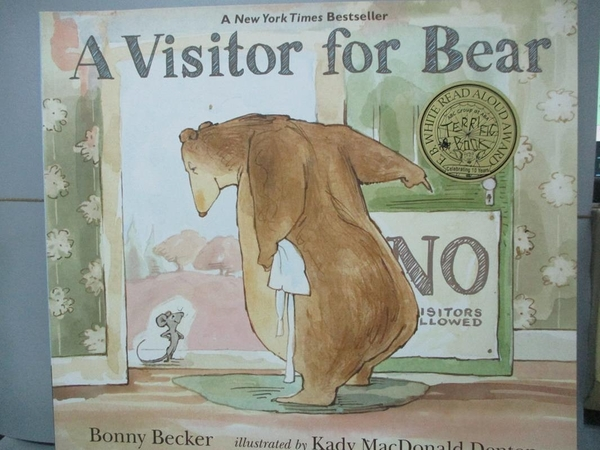 【書寶二手書T4/少年童書_IMR】A Visitor for Bear_Becker, Bonny/ Denton,
