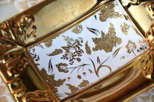 陶瓷工藝品擺件 家居裝飾 現代簡約時尚工藝 香皂盒 煙灰缸