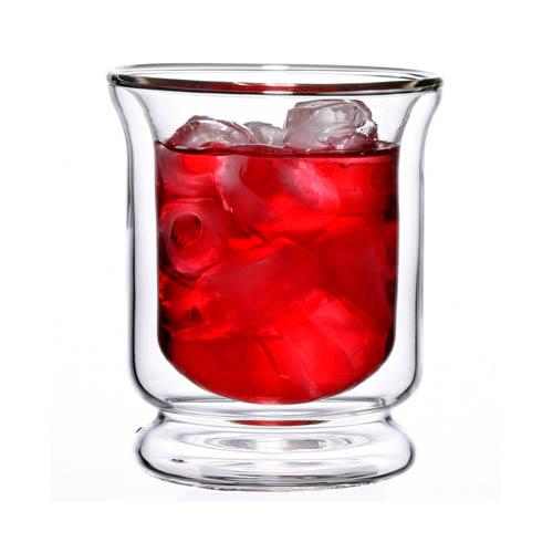 雙層玻璃威士忌杯-(200ml)-2入 茶杯 水杯 玻璃杯 耐熱杯 花茶杯 現貨