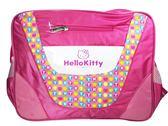 【卡漫城】 Hello Kitty 斜背包 彩色點點 ㊣版 凱蒂貓 側背包 書包 筆電包袋 6 5 0元 剩3