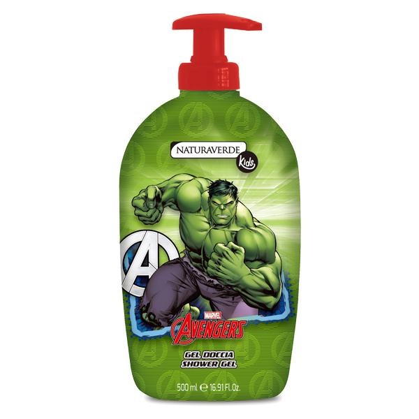 Avengers沐浴露 500ml-Hulk