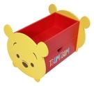 【震撼精品百貨】Winnie the Pooh 小熊維尼~台灣授權Tsum Tsum 維尼造型收納櫃*38381