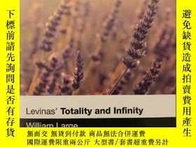 二手書博民逛書店Levinas 罕見 Totality and Infinity