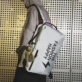 中學生書包男個性初中生大學生雙肩包女潮牌男士休閒旅游背包
