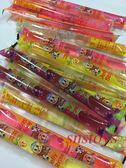 sns 古早味 懷舊零食 糖果 散裝 晶晶 果凍條 果凍 300公克 約±14條
