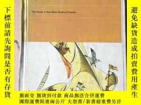 二手書博民逛書店CROSSROADS罕見英文原版 少兒彩色繪本 1969年版 布