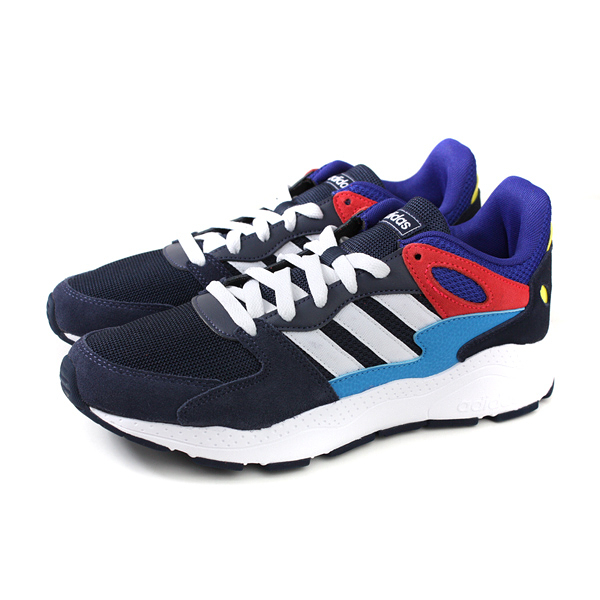 adidas CHAOS 運動鞋 老爹鞋 深藍/紅 男鞋 EF1047 no714