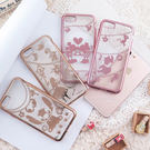 【DD現貨】迪士尼TPU iPhone 7電鍍彩繪保護套 華麗愛戀系列 米奇米妮 愛麗絲iPhone 7 plus 手機殼