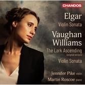 【停看聽音響唱片】【CD】艾爾加/佛漢-威廉士:小提琴奏鳴曲