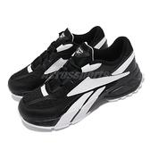 【海外限定】Reebok EVZN 復古慢跑鞋 黑 白 大logo 復古百搭 男鞋 休閒鞋【ACS】 FW6467