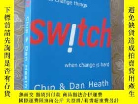 二手書博民逛書店SWITCH罕見(How to change things wh