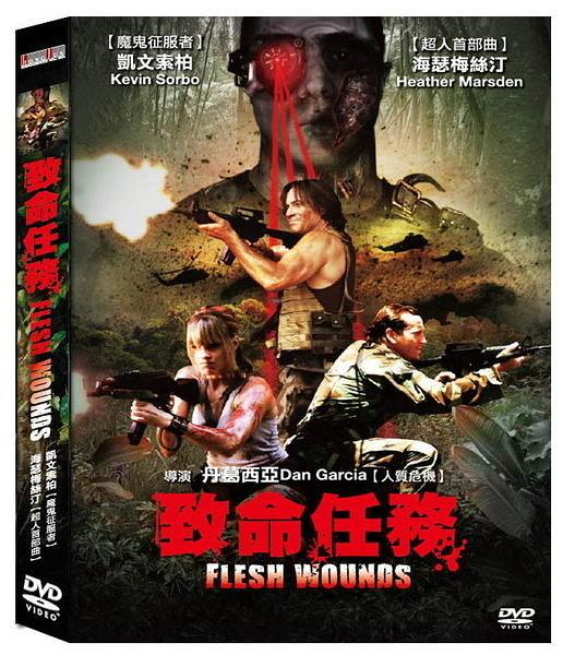 致命任務 DVD FLESH WOUNDS 人質危機丹葛西亞魔鬼征服者凱文索柏超人首部曲海瑟梅絲汀