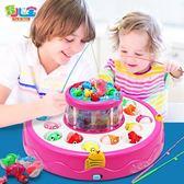 1-2-3周歲半小孩男孩子男寶寶女孩益智男嬰6兒童釣魚玩具磁性電動 全館免運