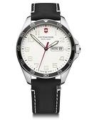 VICTORINOX 瑞士維氏 兩地時間腕錶 VISA-241847